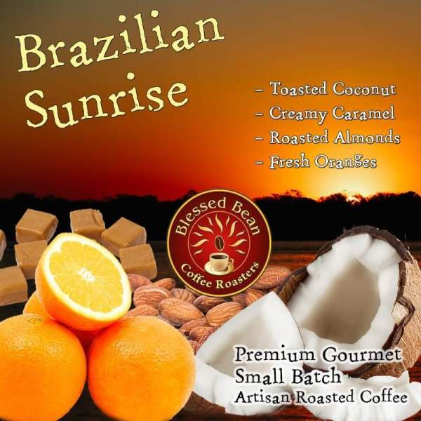 Brazilian sunrise coffee