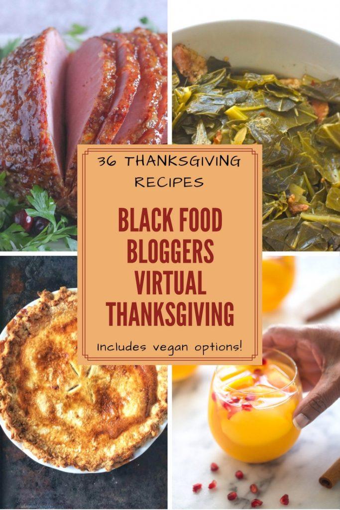 Black-Food-Bloggers-Virtual-Thanksgiving-Feature-Image Sweet Savant Atlanta Food blogger
