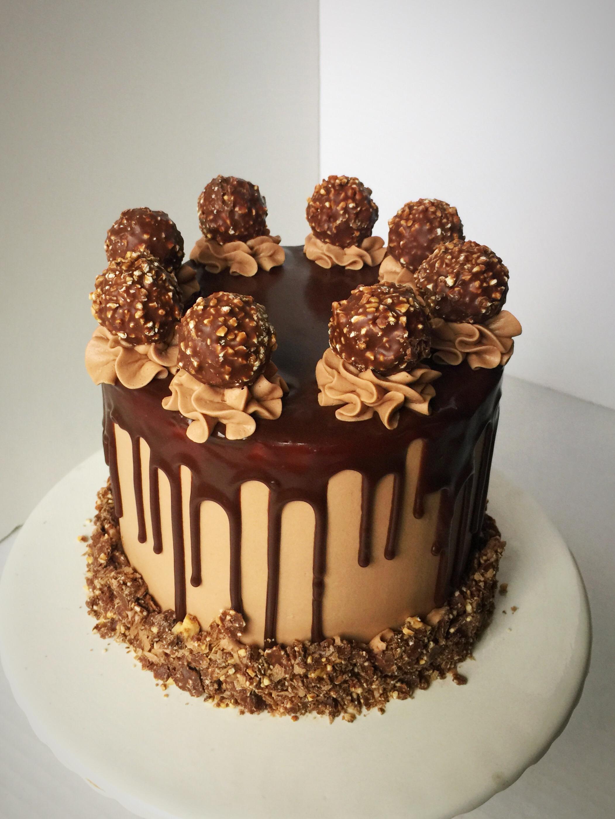 Ferrero Rocher Cake Sweets By Sue