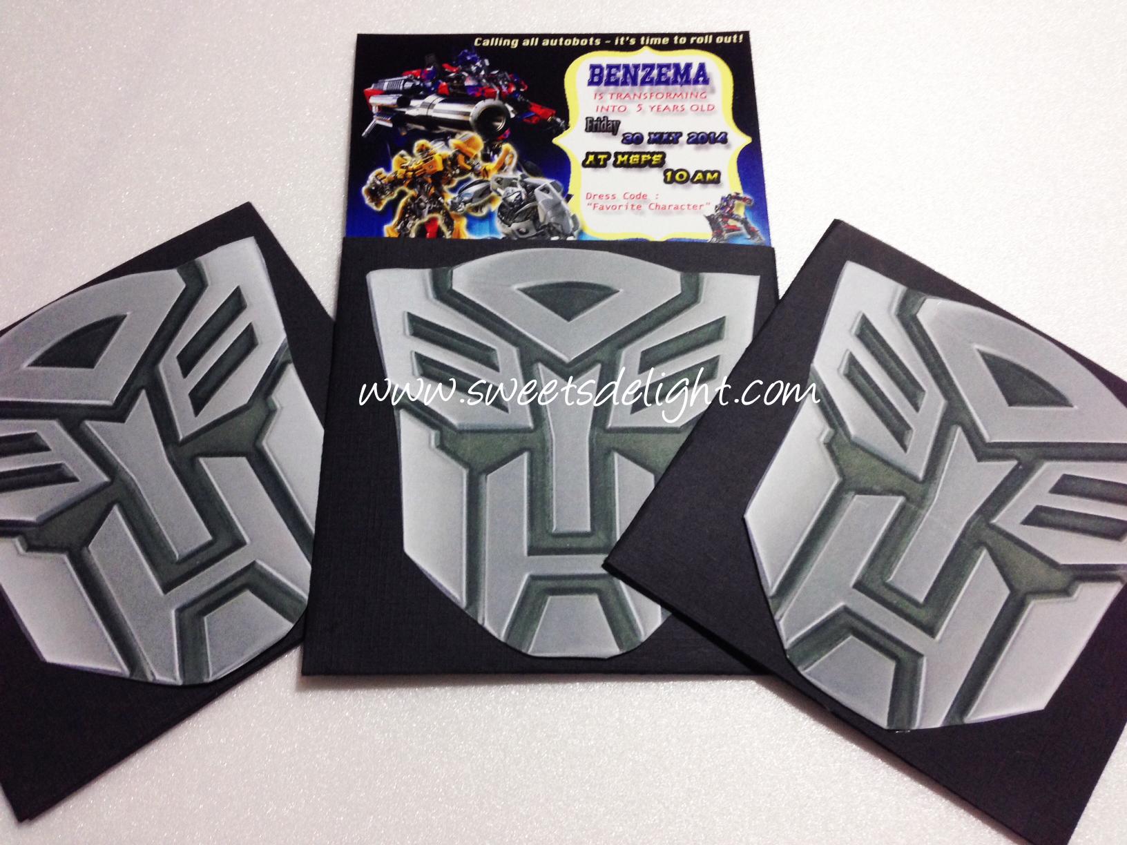 transformers invitation benzema 5th