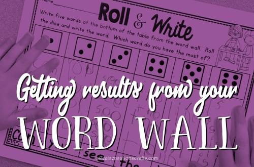 Getting results from your word wall