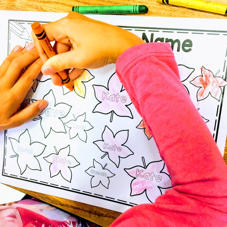 Name recognition and name practice editable personalized worksheets.