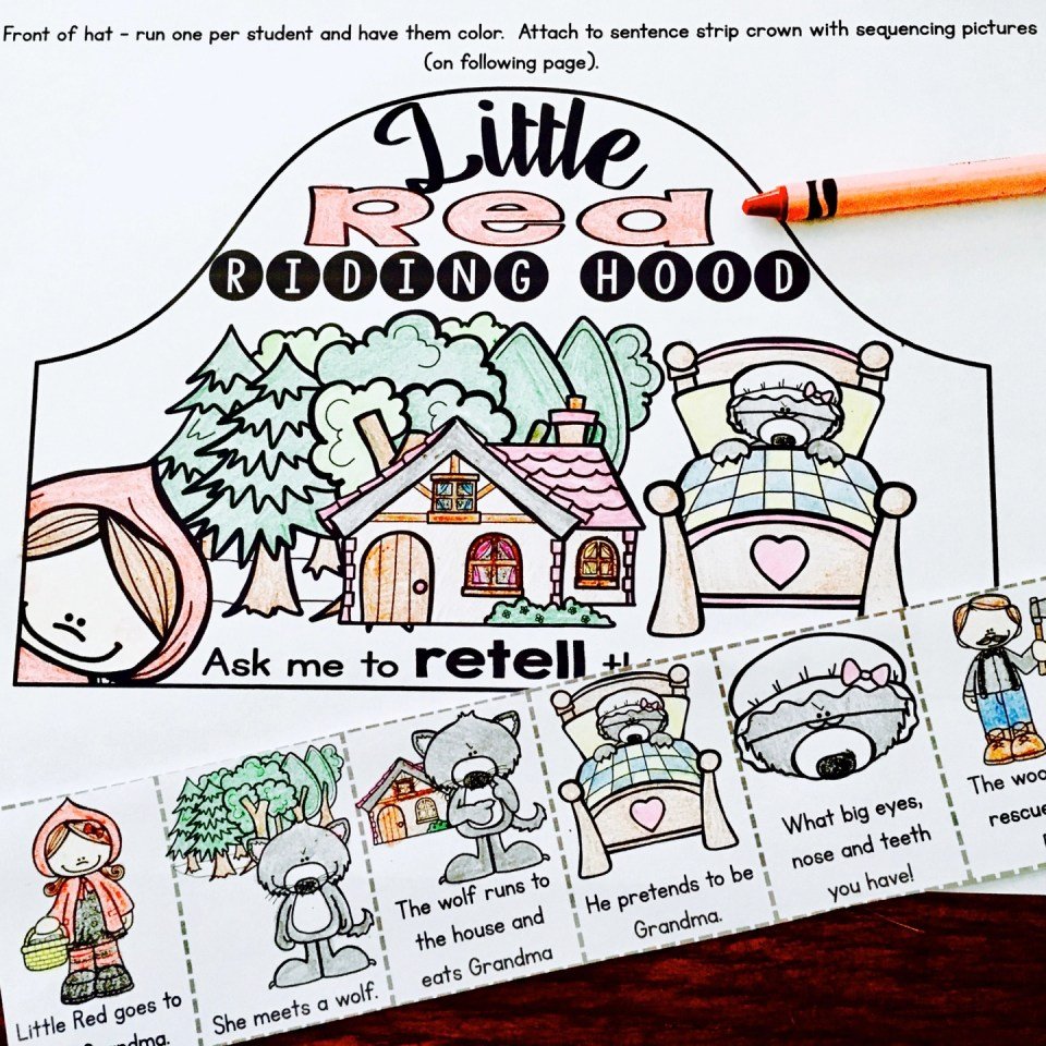 Fairy Tale Retell Activities