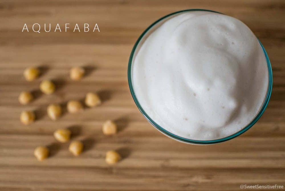 AQUAFABA vegan whipped white egg