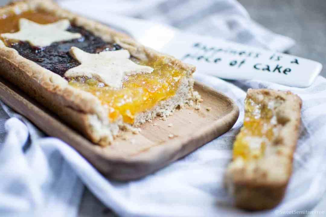 Gluten free vegan tart crust - Frolla senza glutine