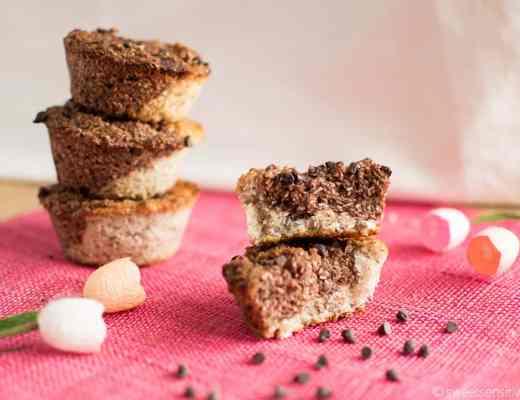 Gluten free vegan chocolate coconut cakes Tortini cacao cocco senza glutine