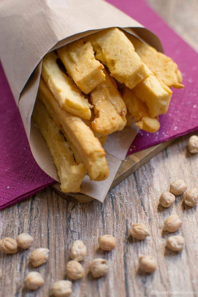 Chickpea Flour Fried Sticks Gluten free - Panissa fritta