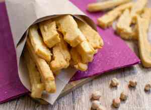 Chickpea Flour Fried Sticks Gluten free - Panissa fritta