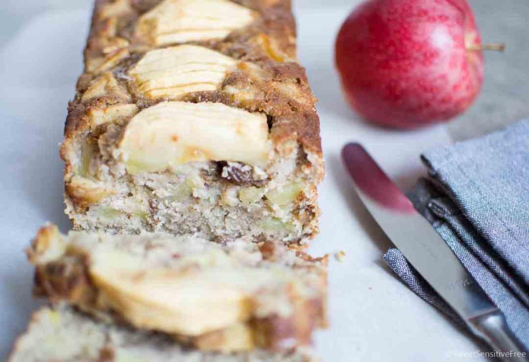 Gluten Free Apple Cinnamon Tea Cake