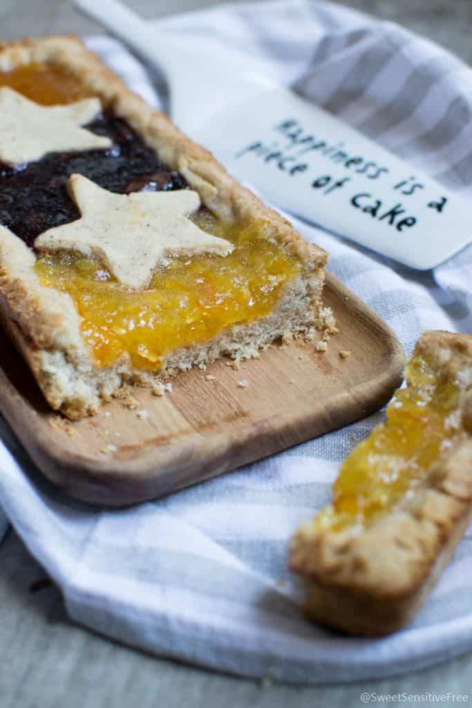 Gluten free vegan tart crust