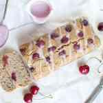 Gluten Free Vegan Cherry Yogurt Cake - Torta yogurt ciliegie senza glutine