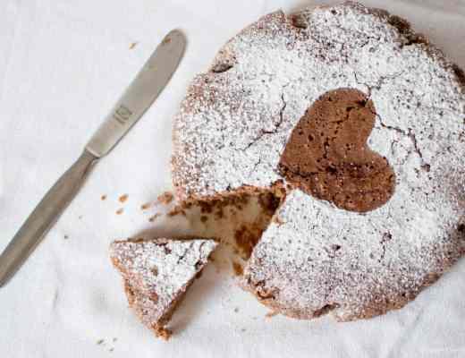 Torta soffice cacao senza glutine latticini uova con aquafaba