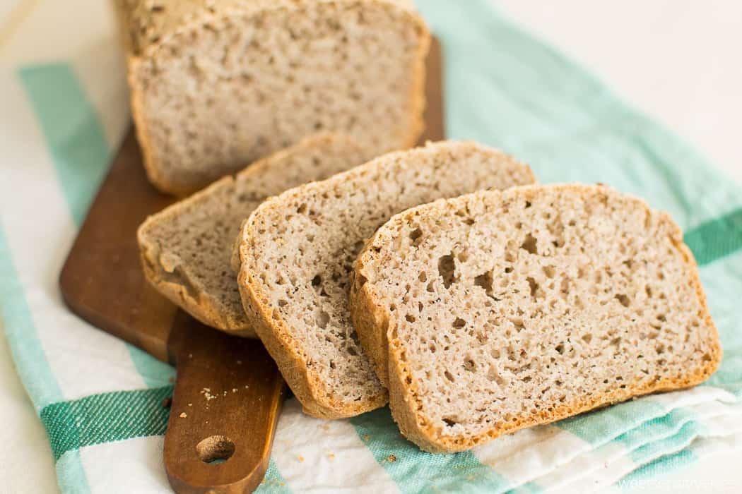 Pane Senza Glutine al Grano Saraceno (farine naturali, no mix pronti) | Senza lattosio * Senza mais