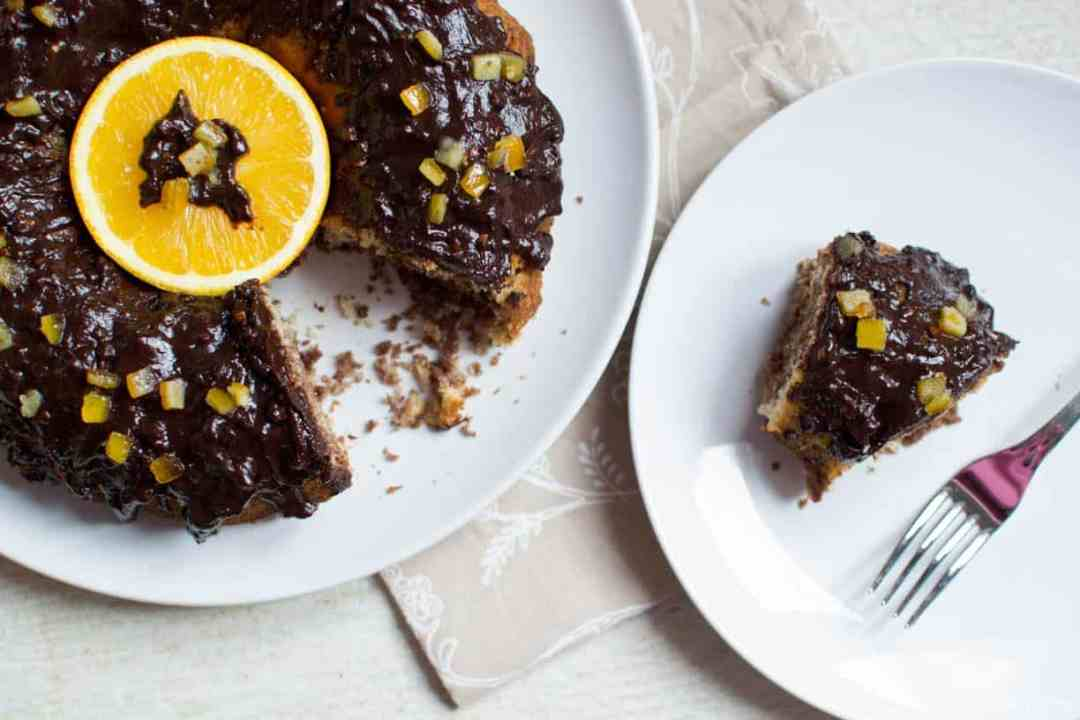 Ricetta torta cioccolato arancia senza glutine uova latticini lattosio vegan