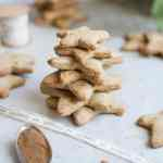 Gluten free vegan gingerbread cookies