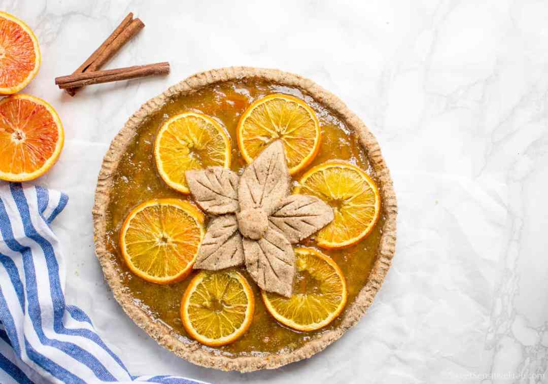 Ricetta crostata biscotti pan di zenzero marmellata arance senza glutine burro uova farine naturali