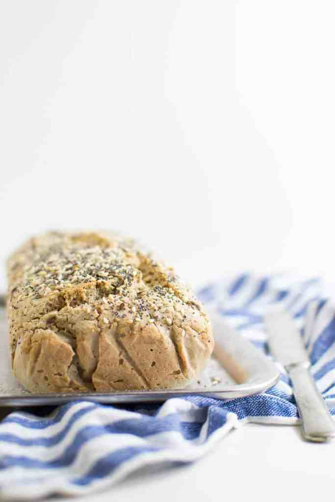 Easy quick recipe for gluten free yeast free soft bread