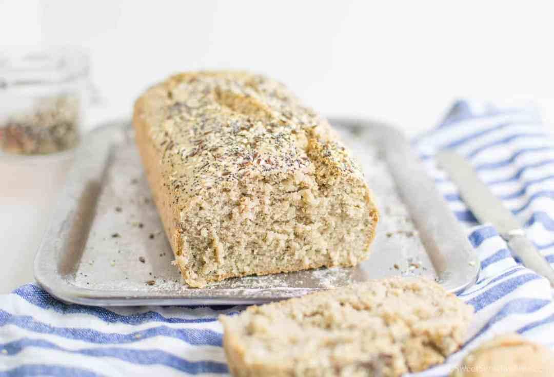 Ricetta per pane morbido senza glutine senza lievito con farine naturali quinoa grano saraceno