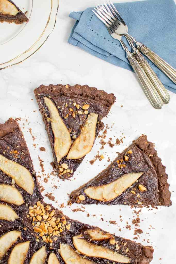 glutenfree vegan chocolate tart crust recipe