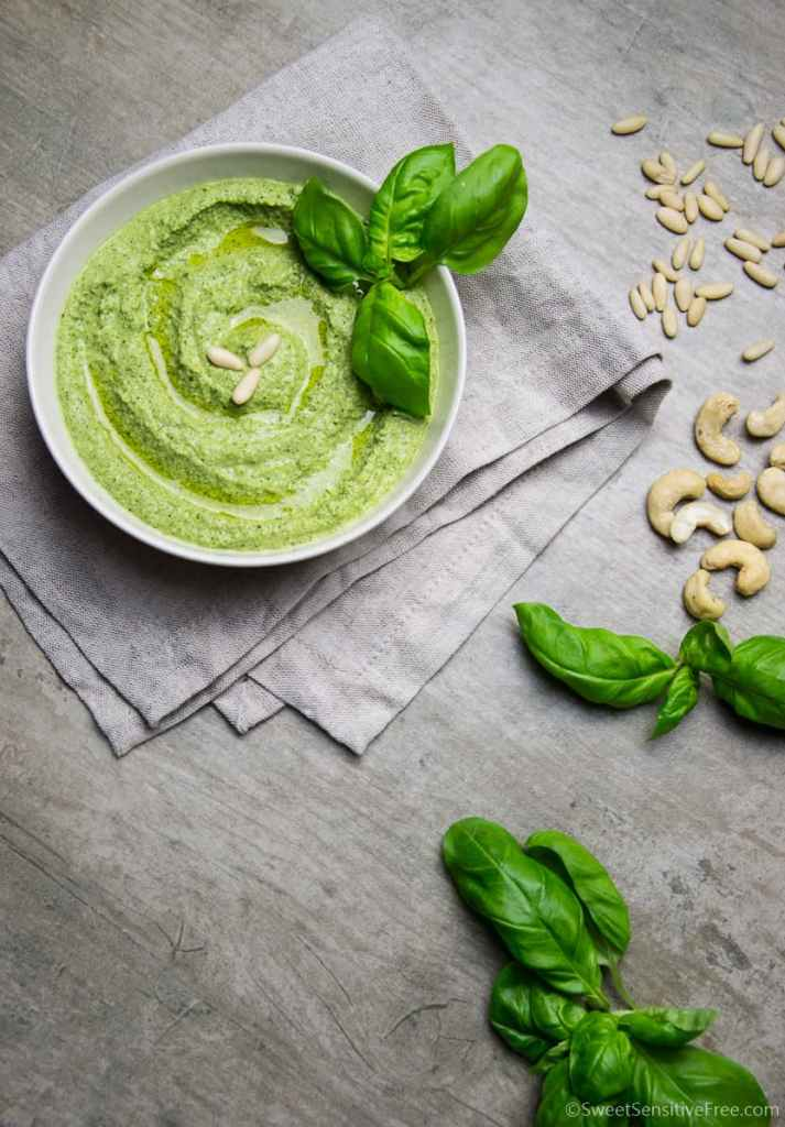 soy free vegan basil pesto recipe