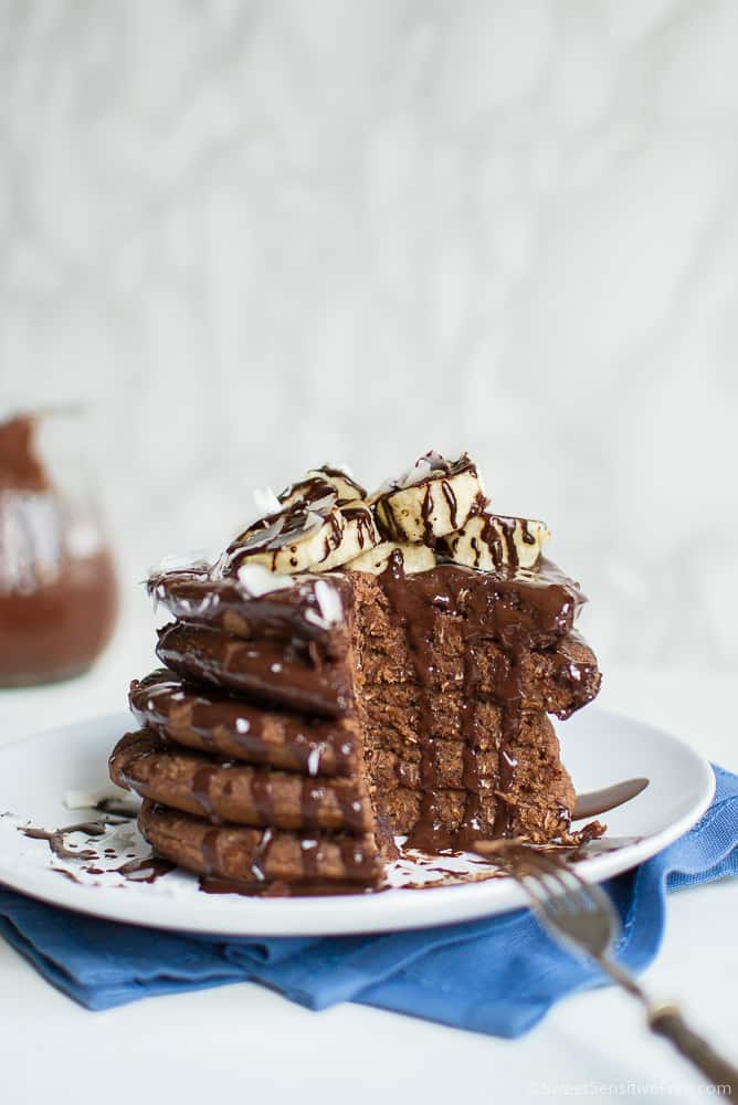 Sofr Gluten free Chocolate Pancakes