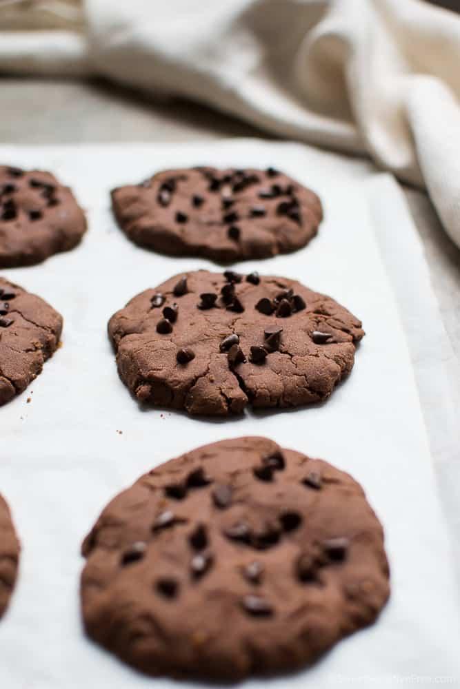 Gluten free vegan chocolate chip cookies recipe