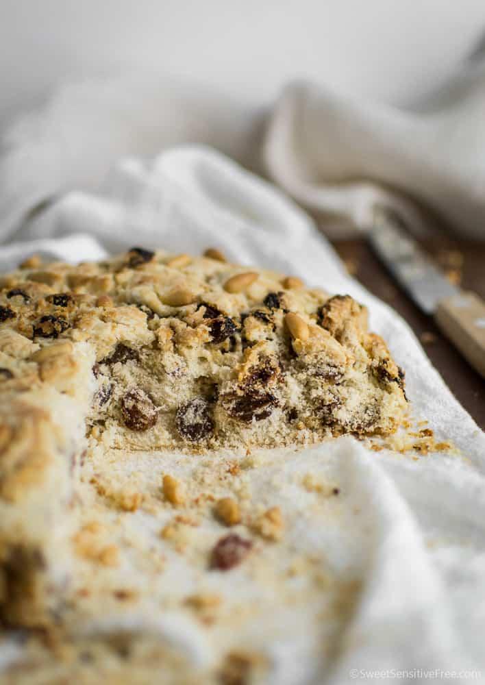 gluten free christmas sweet bread