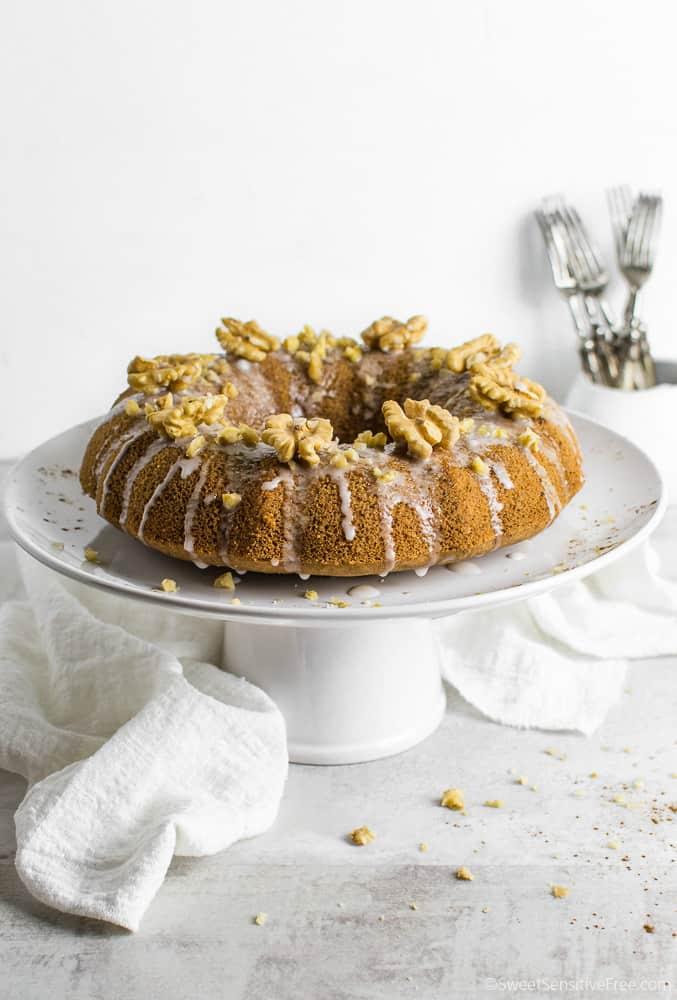gluten free vegan gingerbread cake