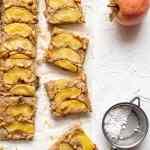 Vegan gluten free apple cake squares dairy free egg free corn free