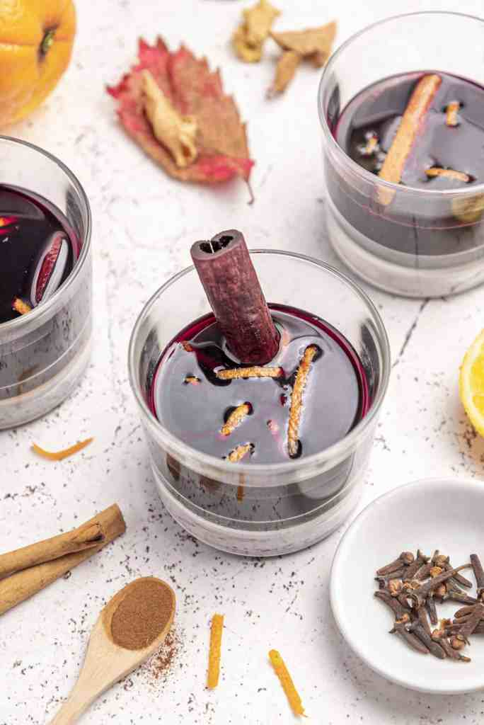 Gluten free Vegan Spiced Liqueur made with Red Wine