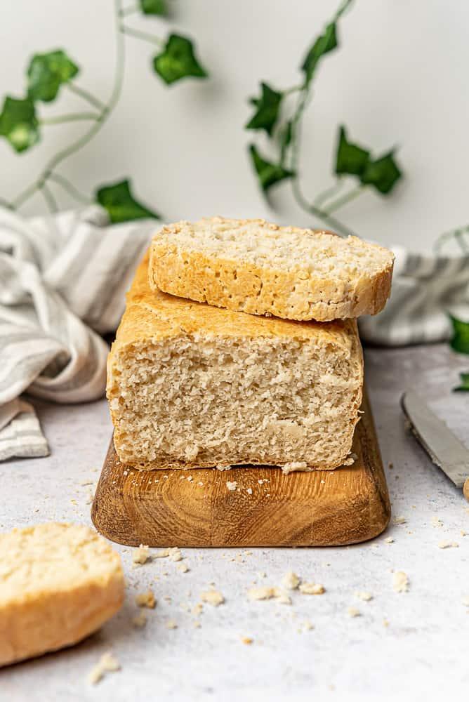 vegan gluten free bread loaf