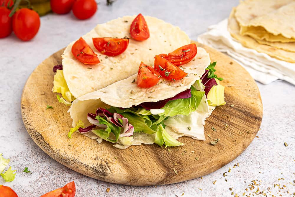 Vegan gluten free tortillas