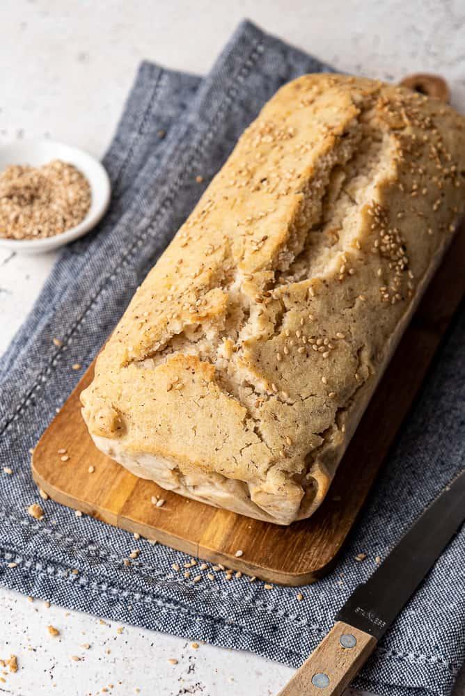 pane in cassetta senza glutine e senza lievito