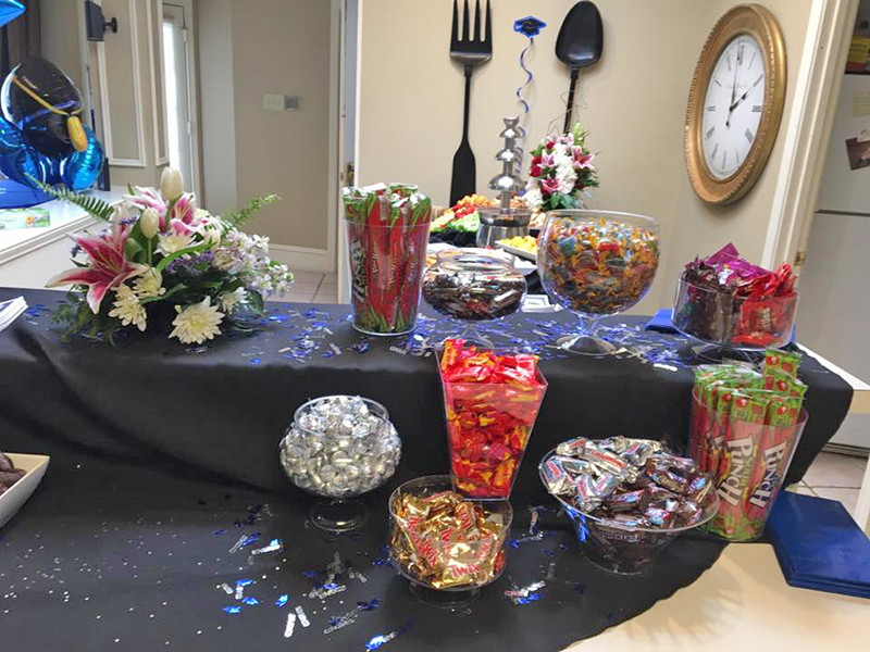 Graduation Candy Party