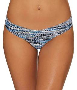 Commando Women's Print Thong, best commando low rise thong, best seamless underwear for working out