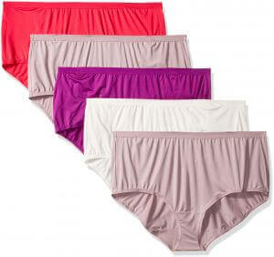Women's Beyond Soft Panties marketed by Fruit of the Loom, best postpartum underwear