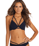 Icon Halter-Bikini Top marketed by Miss Mandalay, best bikini top for large bust