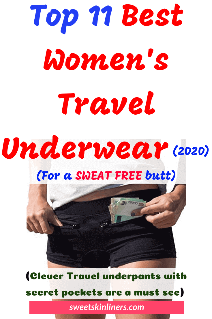 A review of the best traveling underwear, best travel underwear, best hiking underwear womens, best women's panties for travel