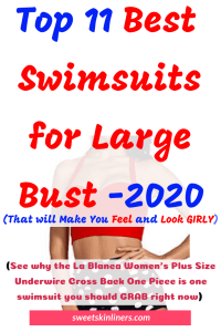 Product curation and a purchase guide for the best swimsuits for large bust, best bathing suits for large bust, best swimsuits for big busts, best bathing suits for big bust, best bikini top for large bust, best bathing suit for large bust