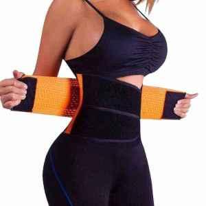 VENUZOR Women's Waist Trainer Belt, Waist Cincher Trimmer, best waist belt for weight loss, best belly band for weight loss, best waist belt to lose weight, best waist trimmer belt