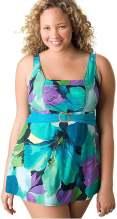 Plus size swimdress for women by Lane Bryant