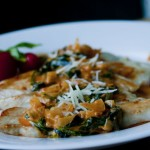 Creamy Spinach Vodka Sauce and Sautéed Chicken