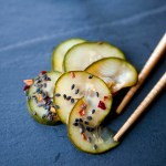 Spicy Pickled Cucumber