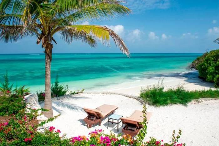 Zanzibar, Tanzania - Zanzibar's waters are a brilliant striking turquoise colour