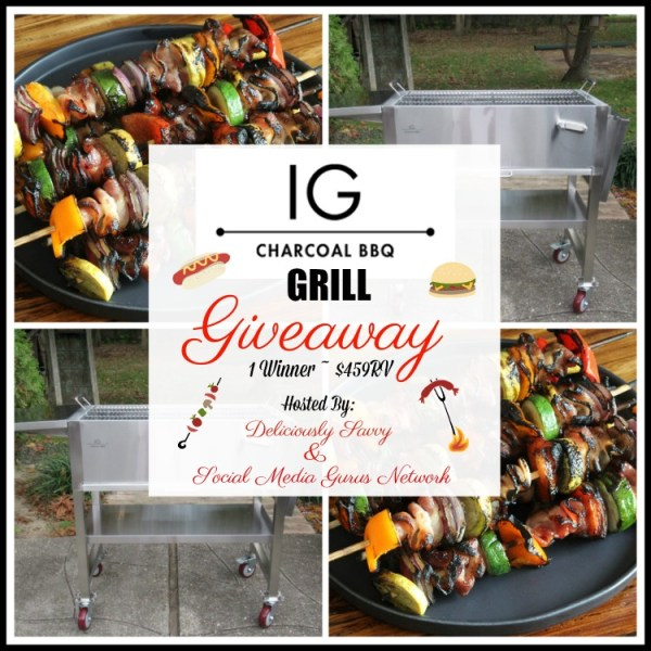 Enter and you could #WIN an IG Charcoal BBQ Fall Grill worth over $450 when this #SMGN Gift Guide #Giveaway ends 10/31