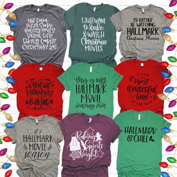 Christmas Baking Tees | Free Shipping