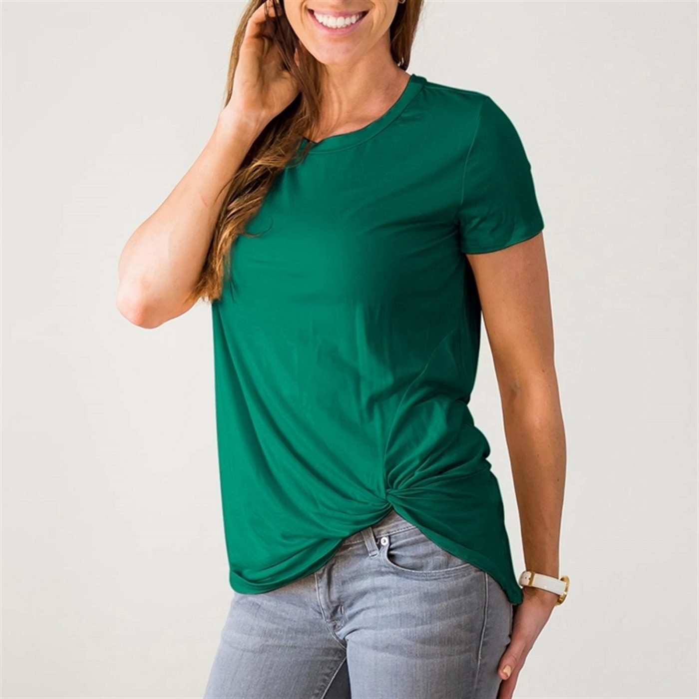 Was $39.99 - Now $19.99 - Twist Front Top | Free Shipping (10/16 to 10/18)