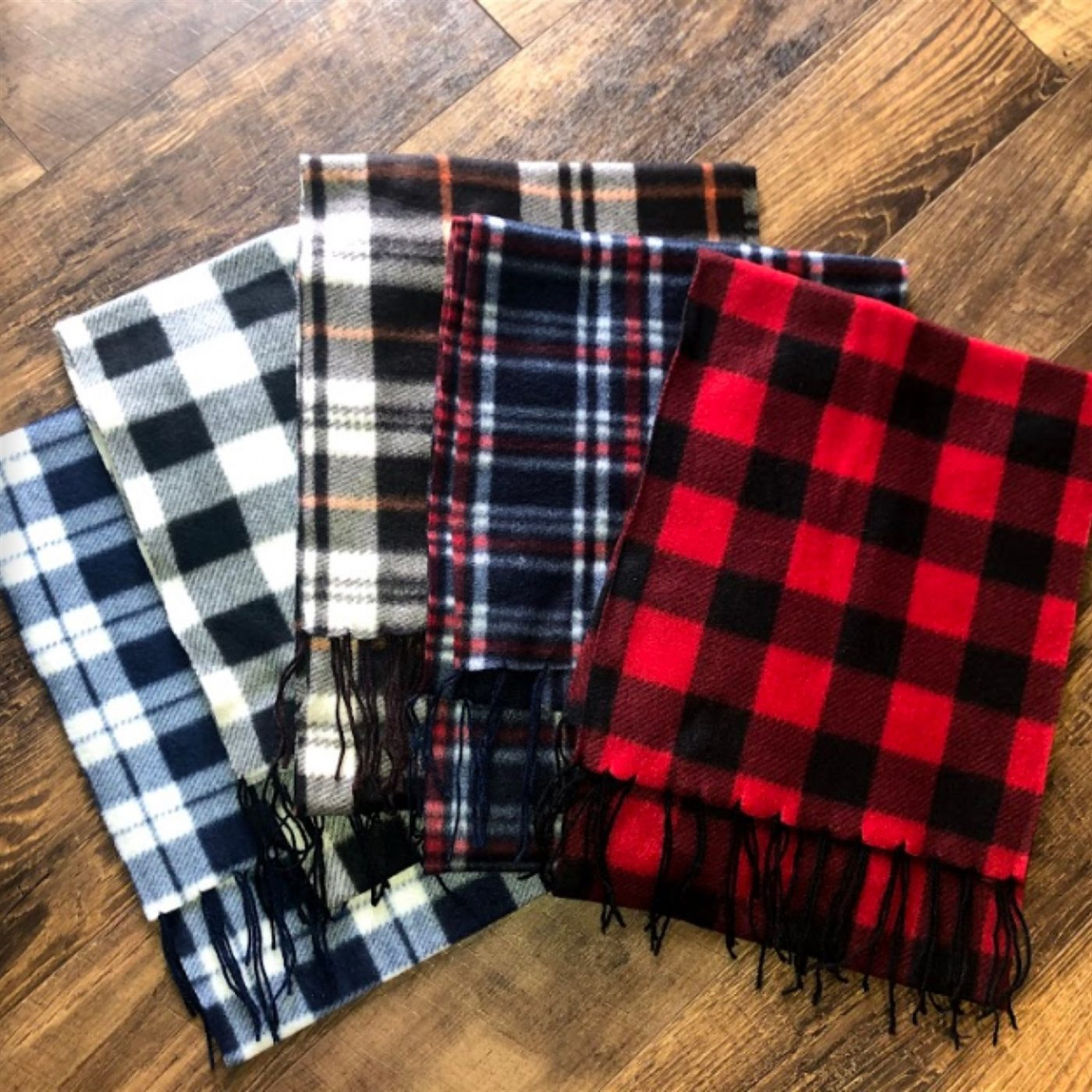 Was $19.99 - Now $9.99 - Fleece Winter Scarfs   Free Shipping (10/16 to 10/18)