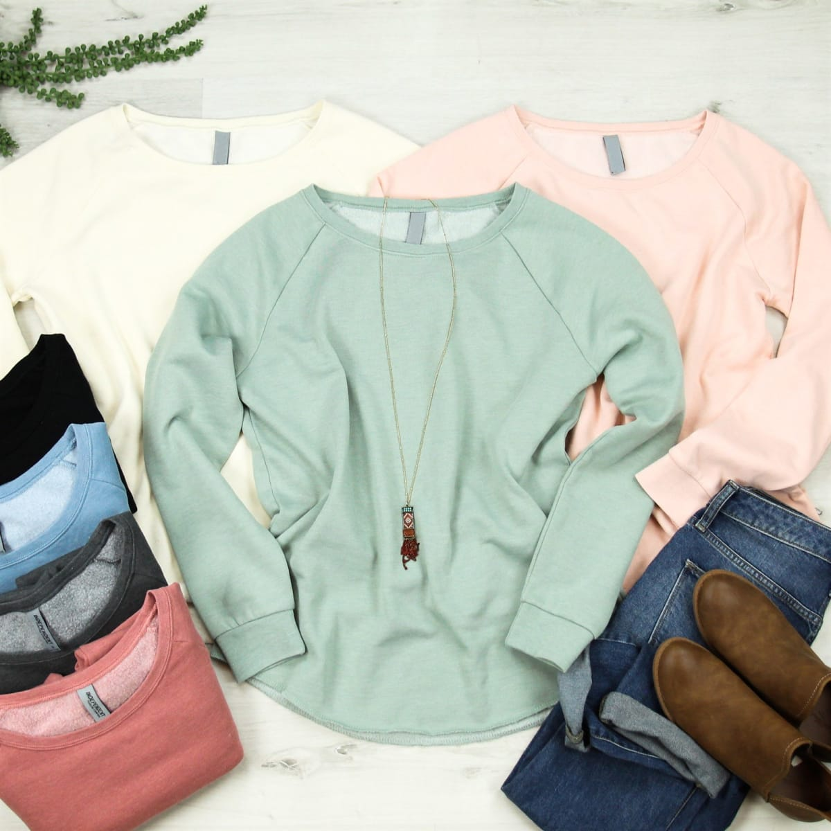 Soft Pullover Sweatshirt | Free Shipping