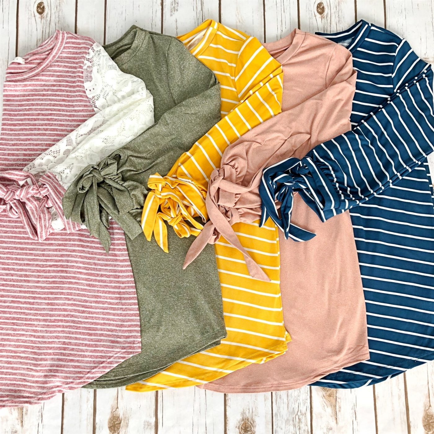 Was $45.99 - Now $14.99 - Tied Tunic Collection   Free Shipping (10/12 to 10/14)